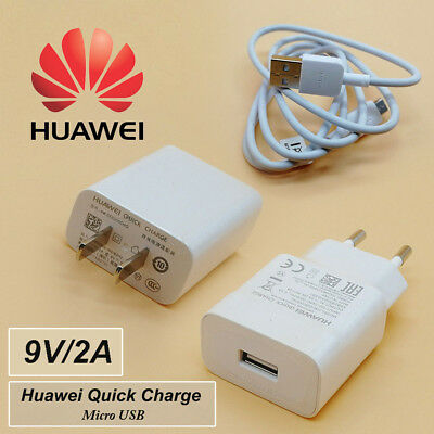 Orginal HUAWEI For Honor 8X Max Quick Charge 9V2A Wall Charger Micro USB Cable