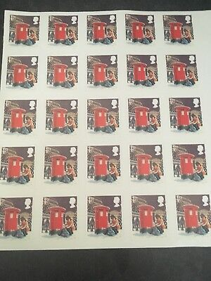 25 1st Class Stamps