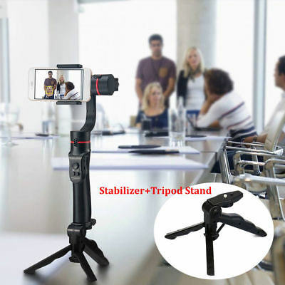 AU 3-Axis Handheld Mobile Gimbal Stabilizer for Smartphone iPhone+Tripod Stand #