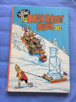 Bash Street Kids Book Annual 1982 From The Beano