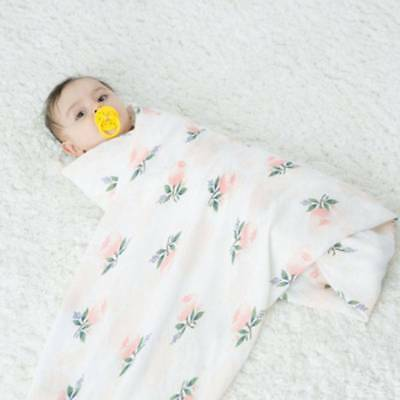 120*120cm Baby Blanket Breathable Muslin Wrap Newborn Cotton Bamboo Fiber