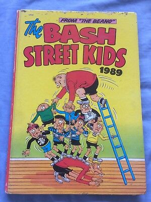 Bash Street Kids Book Annual 1989 From The Beano