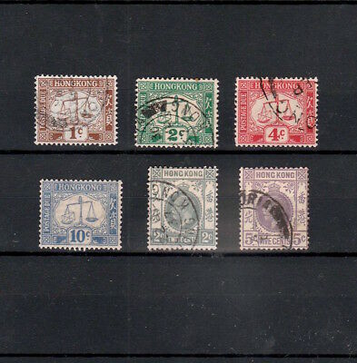 Hong Kong 1924-1931 Selected Stamps Including Ten Cents Postage Due Mint