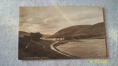 Postcard --  The Loch O' The Lowes & St Mary's