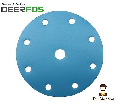 150mm Wet and Dry Sanding Discs 6 inch Sandpaper Pads 8+1 Fits Festool Makita
