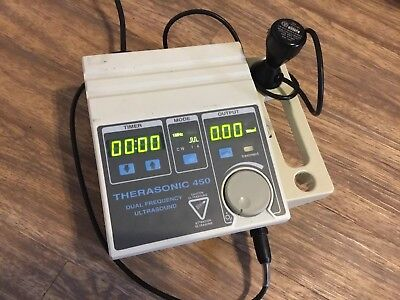 Ultrasound Therapy Unit EMS Therasonic 450 Therapy System+Ultrasound Probe Works