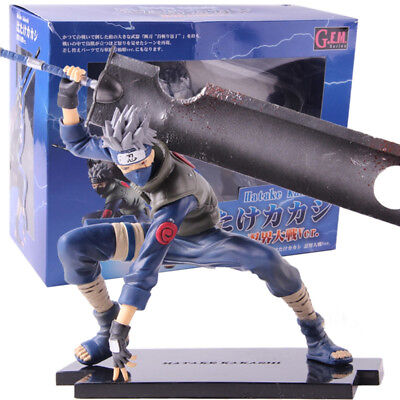 Naruto Shippuden Hatake Kakashi Shinobi Wars Version PVC Action Figure Model Toy