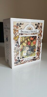 Boxed Set of 8 Brambly Hedge Books by Jill Barklem 1994.