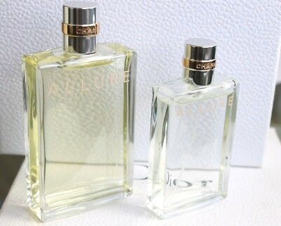 2 RARE FACTICE ALLURE CHANEL EDT 50 ml & 100ml  - DUMMY NOT PERFUME