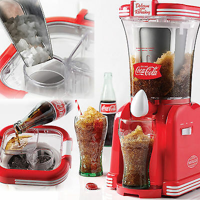 Frozen Drink Machine 32 Ounce Slush Maker Ice Coca Cola Snow Smooth Nostalgia