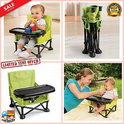 Pop and Sit Portable Booster perfect for feeding or playtime Baby Child park