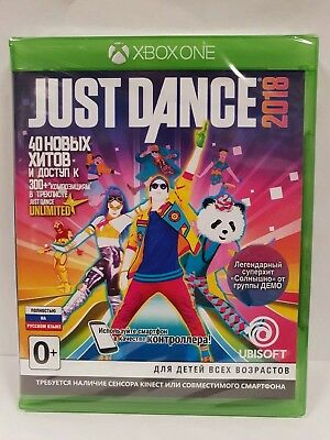 Just Dance 2018 XBOX ONE NEW / SEALED