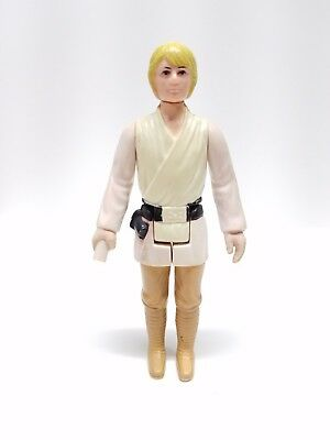 LUKE SKYWALKER FARMBOY Vintage Star Wars Kenner Original Figure First 12 1977