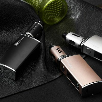 80W TC Cigarette Electronique E Cigarette 3,5 ml Mod Kit 2200mah Rechargeable