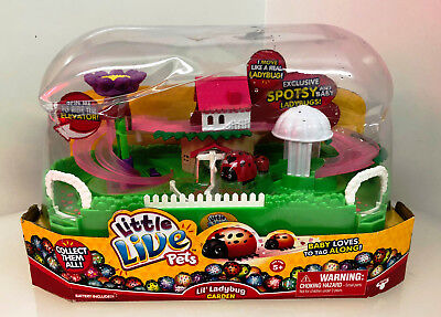 Little Live Pets Ladybug Playset  - New but Damaged Packaging