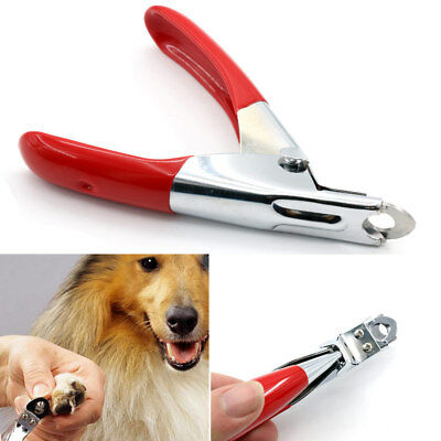 Pet Dog Cat Nail Toe Claw Clippers Scissors Trimmer Shear Cutter Grooming Tool