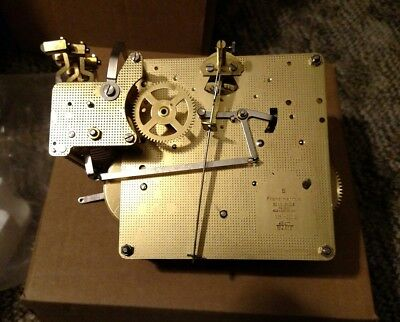 HOWARD MILLER/HERMLE 1051-030A/43cm TRIPLE CHIME 8 DAY MOVEMENT. Lot#6