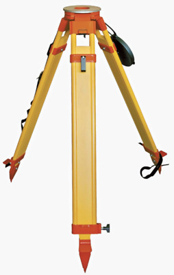 Wooden Heavy Tripod 8kg with dual clamp for Theodolite, Total Station