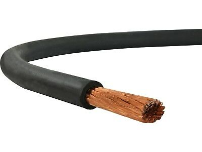 Welding cable 35MM²  OS black flexible H01N2-D - PRICE PER METER