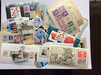 Discount Postage, GB Commemorative Stamps, Mint Full Gum, Face Value £60