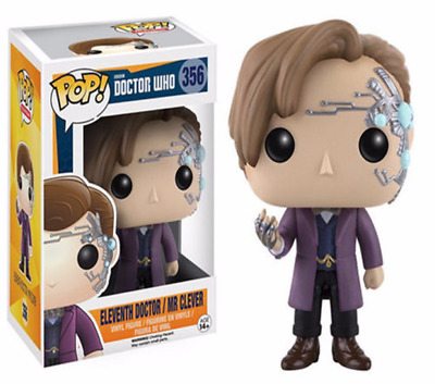 New With Box Funko Pop Doctor Who Vinyl ELEVENTH DOCTOR MR CLEVER Action Figure