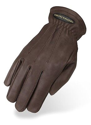 (10, Chocolate) - Heritage Winter Trail Glove. Heritage Products