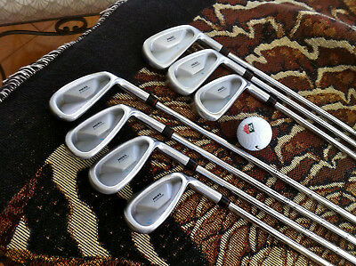 MacGREGOR FORGED TOUR ISSUE M685 IRON SET 4-PW TRUE TEMPER TT R / TITLEIST M580!