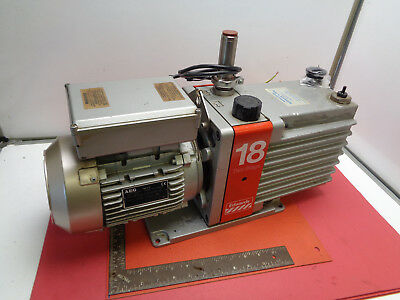 Edwards 18 E2M-18 twin stage vacuum pump -1.0 bar 240v LOTEW41PM
