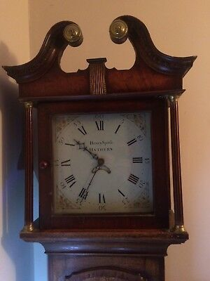Antique Grandfather Clock In Working Order