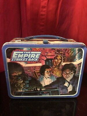 Star Wars Empire Strikes Back Vintage Lunchbox 1980
