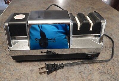 CHEF'S CHOICE Diamond Hone Multistage Knife Cutlery Sharpener Professional 110