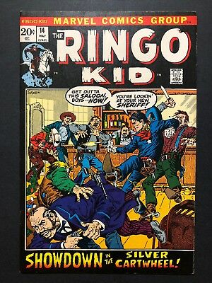 The Ringo Kid #14 (May 1972, Marvel) LEGENDARY WESTERN COWBOY CLASSIC SERIES