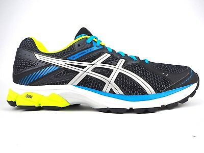 Mens Asics Gel Innovate 7 T617N 9093 Black Silver Lace Up Mesh Running Trainers