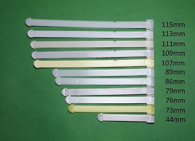 Plastic Spacers/Straps Vertical Blind Carrier Replacement Parts from 44mm-115mm