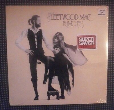 "Sealed Fleetwood Mac Rumours 12""vinyl Record Lp Textured Cover 1977 2Nd.press"