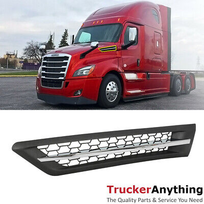 Front Side Vent  Hood Intake For Freightliner Cascadia 2018-2019+ Sleeper Cab