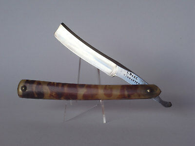 Uraltes I.Hall Rasiermesser Sheffield straight razor warranted klasse c.1850