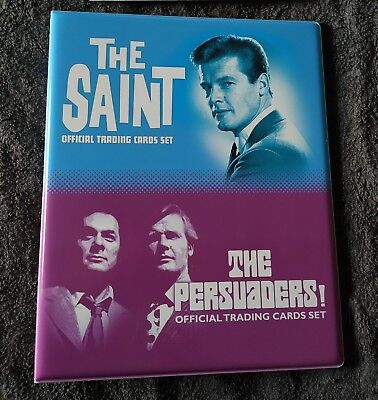 The Persuaders & The Saint Binder - Unstoppable Cards  2018 - Brandnew