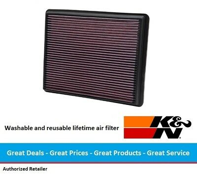 K&N Replacement Air Filter for Chevrolet Suburban & GMC Yukon