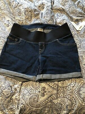 Old Navy Maternity Denim Shorts Low Panel Size 4