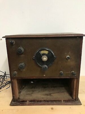 The Dudley Early Valve Radio