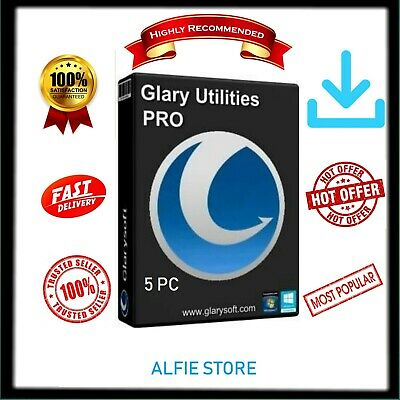 Glary Utilities Pro 5 LIFETIME LICENCE 3 PC's PER LICENCE KEY + A FREE KEY Selle