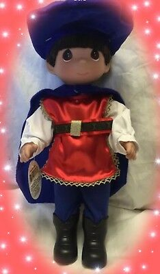"Disney Snow White Prince Charming Doll - Precious Moments 12"" Vinyl Doll"