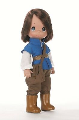 "Disney Tangled Flynn Rider Doll - Precious Moments 12"" Vinyl Doll"