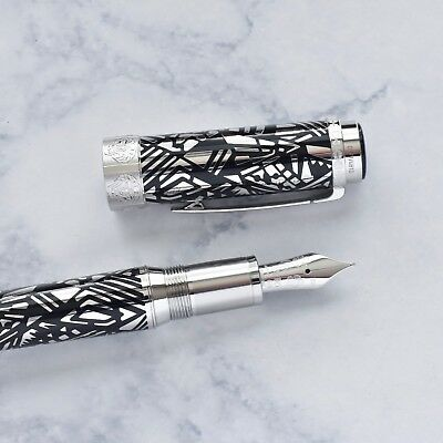 Montblanc Patron of Art Limited Edition 4810 Peggy Guggenheim Fountain Pen F Nib