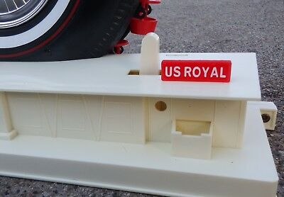 US Royal Ferris Wheel Toy REPLACEMENT Sign - 1964 New York World's Fair