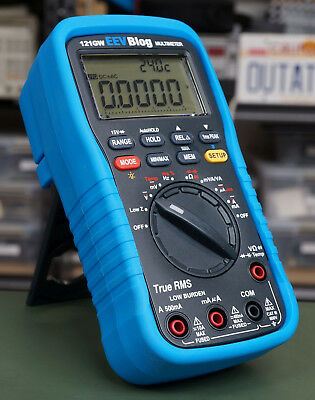 121GW EEVBlog multimeter with probes and case - official EEVBlog reseller