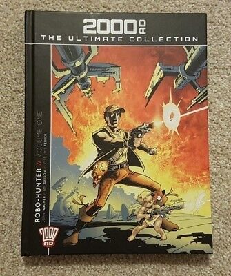 2000 AD: The Ultimate Collection Robo-Hunter Vol 1 Issue 11 - Graphic Novel Book