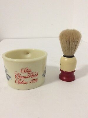 Old Spice SHAVING Cup And Brush Mug, Ship Recovery- Salem 1794