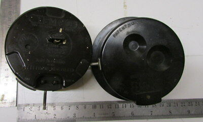 Two electric clock movements